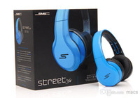 Wholesale People Mp3 - AAA 50 Cent Headphones Black White Blue Over-Ear Wired Headphones with competitive price fit for young people who like sporting