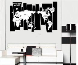 Large map world for kids nz buy new large map world for kids free shipping large world map wall stickers removable wall art decal decor mural diy vinyl room decor gumiabroncs Images