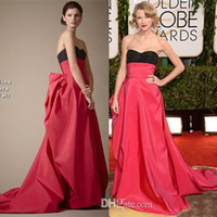 Wholesale Dress Golden Brown Color - Ball Gowns 2014 Red Carpet Evening Dresses Sweetheart The 71st Golden Globe Awards Taylor-Swift Celebrity Dresses Long Dress Sexy Cheap XX38
