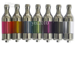 Wholesale Colorful Protank - Protank Glass atomizer Clearomzier colorful X9 for Electronic Cigarette E CIG Tank System ego Changeable Coil Atomizer