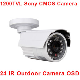 Wholesale Cctv Camera Sd - ANRAN HD 1200TVL Sony CMOS IMX138 Sensor 24 IR Outdoor Waterproof Bullet Security CCTV Camera With IR-Cut
