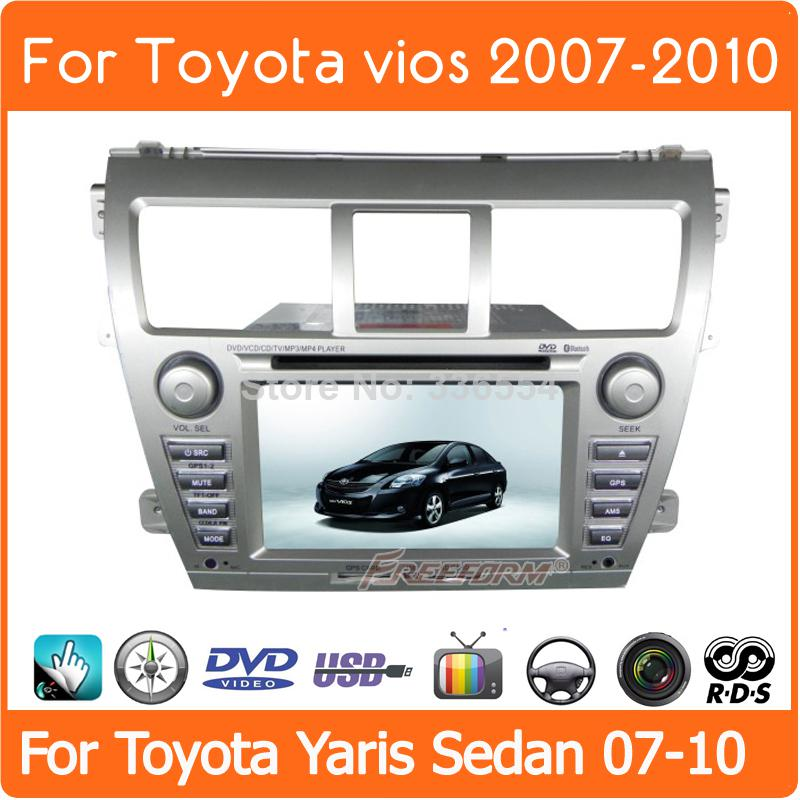 2din Car Dvd Gps Player Radio Stereo For Toyota Vios 2007 2008 2009 Rhdhgate: 2007 Toyota Yaris Dash Radio At Gmaili.net