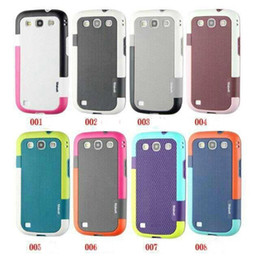 Wholesale S3 Heavy Duty Case - colorful Walnutt generation 2 combo heavy duty case cover skin shell for Galaxy S3 SIII i9300 walnutt luxury case with packing