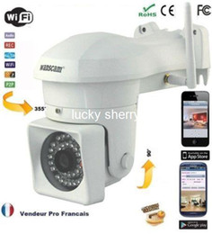 outdoor wireless security NZ - Wanscam HW0023 Outdoor HD 720P Waterproof Wireless IP Security Camera H.264 1 Megapixel Pan Tilt P2P Motion Detection IR cut