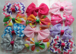 Wholesale Clip Print Hair - Baby Hair Accessories Girl Hair Clips Childrens Accessories Hair Things Children Hair Accessories Kids Hair Slides Barrettes Toddler Bows