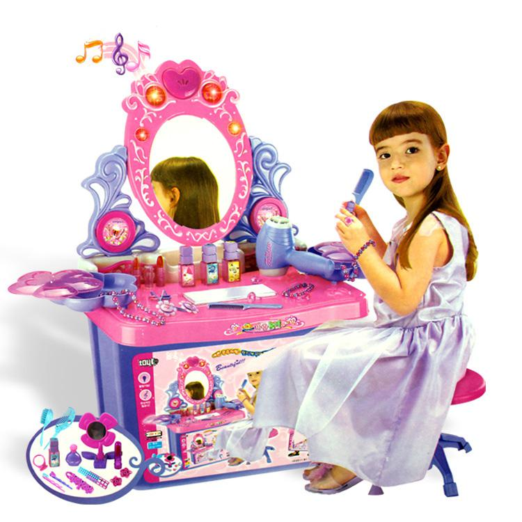 Princess Toys Box Storage Kids Girls Chest Bedroom Clothes: 2019 Storage Box Dresser Dream Girl Toys Children Play