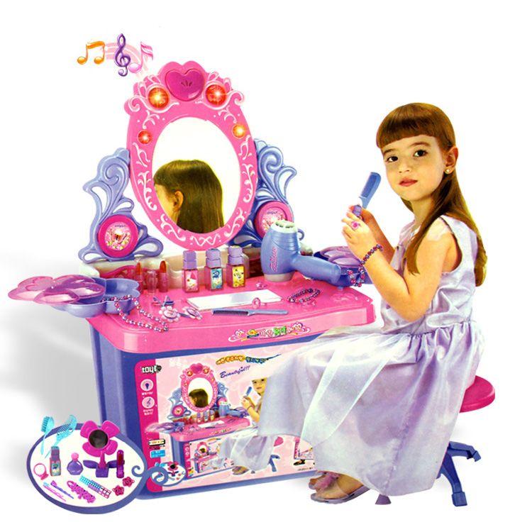 Toys For Girls Aged 5 To 7 : Storage box dresser dream girl toys children play