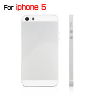 Wholesale Framing House Design - New Arrival For iPhone 5 iPhone5 Back Cover Chassis Frame Housing iPhone 5S Design Style