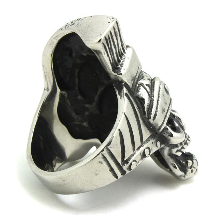 Hot New Cool The Terminator Skull Ring 316L Stainless Steel Top Quality Band Party Men Boy Fashion Evil Skull Ring