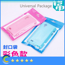 Wholesale Earphones Plastic Cover - Universal Plastic PC Retail Bag Pouch Packaging Package for iPhone Samsung Case Cover Cable Earphone etc. Many Sizes