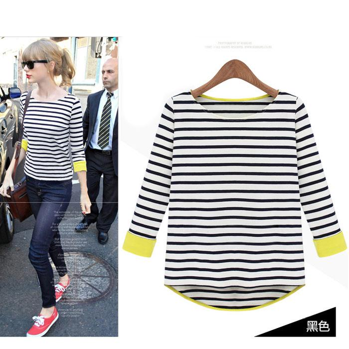 In Stock !!! Hot Sale Women'S Casual Cotton Swallow Tailed Black ...