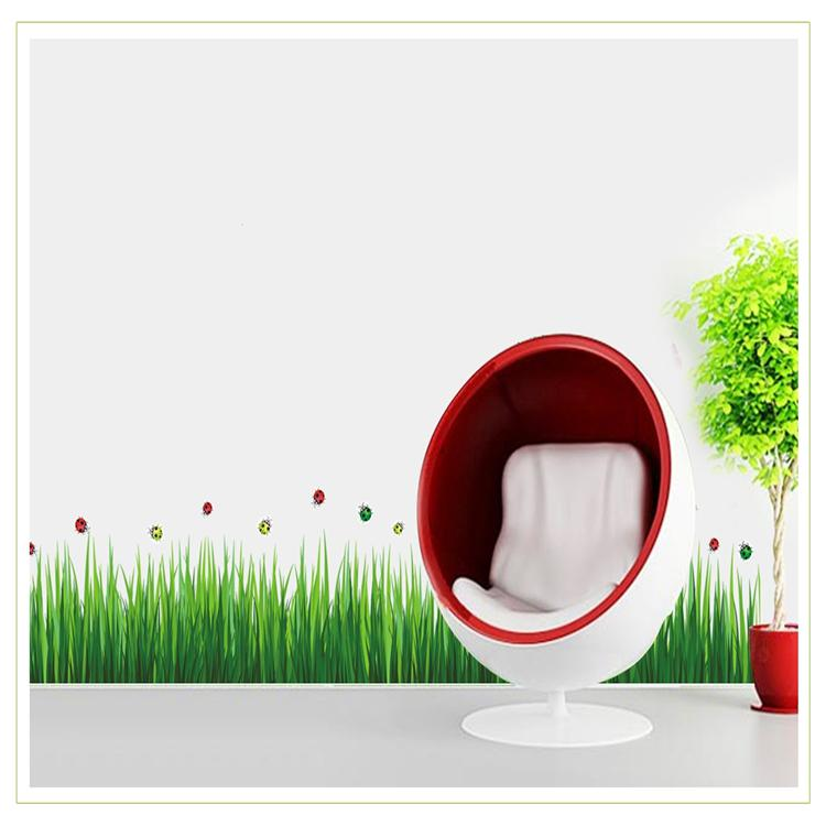 Removable Pvc Green Grass Wall Sticker Decal Art Stickers For Home - Wall decals grass