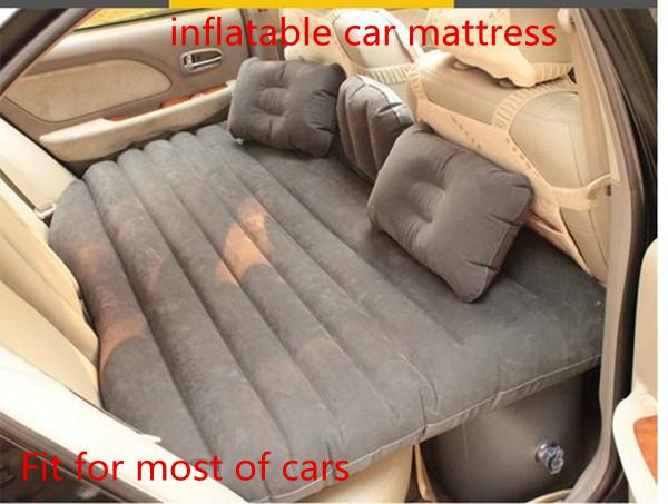 2015 Thick Pvc Car Inflatable Bed Air Mattress Back Seat