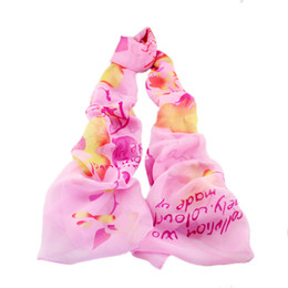 Wholesale White Elegant Scarves - Designer Print Scarves Three Color Available Hot Sale Lovely Ladies Scarves Elegant Shawl Apparel
