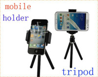 360 Rotatable Universal Mini Tripod Stand Camera Support vidéo pour mobile iPhone 4s 5s 6 samsung s4 s5 htc one m8 lg g3