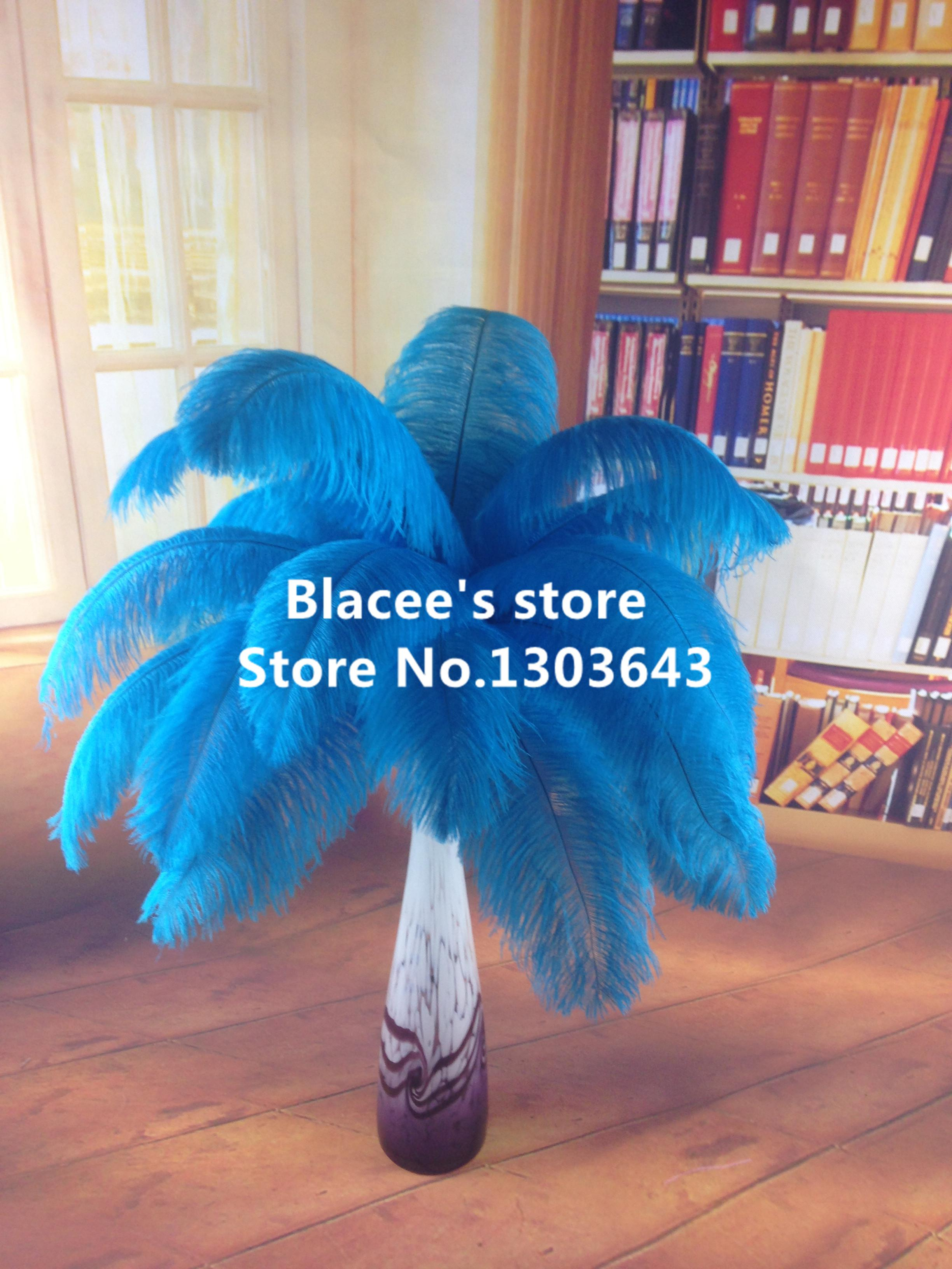 Newwholesale Pricesturquoise Ostrich Feather For Wedding Decor Or