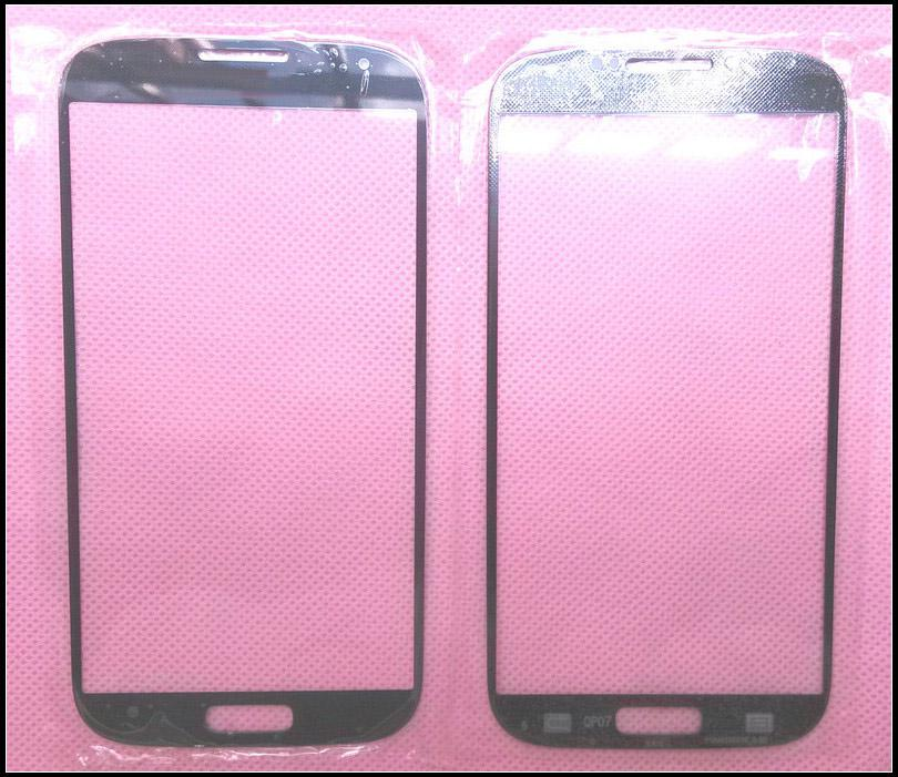 Touch Screen Outer Glass Replacement for Galaxy S4 i9500 i9505 Digitizer Cover Lens Black White Blue Colors