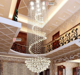 Wholesale Suspension Ceiling Light - Luxury Bright Crystal Flushmount Chandeliers Modern Ceiling Lamps Lighting K9 Crystal Pendant Lamp K9 crystal Suspensions Lamps