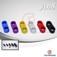 Wholesale An8 Hose - Billet aluminum line separator AN8 ID:15.9MM ( suit hose 200-08)