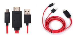Wholesale Galaxy S3 Hdmi Cable - 2M MHL Micro USB HDMI Cable Adapter HDTV for Samsung Galaxy Note 3 S4  S3  Note 2