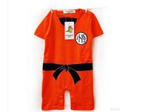 naranja bodysuit al por mayor-Mameluco del mono del bebé al por mayor recién nacido shortall con bordado en contraste bebé ropa de una sola pieza para bebé naranja J0382