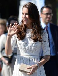 $enCountryForm.capitalKeyWord Canada - 2014 summer star style Princess Kate Lace dress slim fit