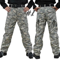 Wholesale Camouflage Pant Wide Leg - Fashion Men Special Forces Camouflage tactical training pants U.S. army combat trousers 4 styles S-XXL R106
