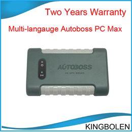 Wholesale Vci Scanner - 2017 Hot Selling Autoboss PC MAX wireless automotive programmer diagnostic scanner Autoboss PC-MAX VCI Two years warranty