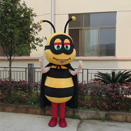Wholesale Make Bee Costume - Bee Cartoon Dolls Costume Cartoon Dolls Doll Mascot Costumes Props