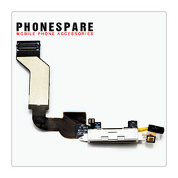 Wholesale Iphone 4s Cables - Flex cable For iPhone 4S Charger Charging Dock Port Connector USB flex cable for iphone 4 4G replacement