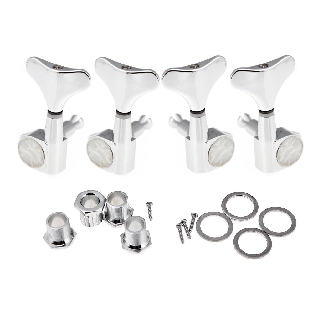 2019 chrome sealed tuning pegs tuners machine heads for bass guitar 2l 2r 2left 2right guitar. Black Bedroom Furniture Sets. Home Design Ideas