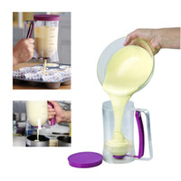 Wholesale Dispenser Cake - Batter Dispenser Baking Tool 900ml Pancakes Muffin Cupcakes Pastry Jug Plastic Practical Cake Cooking Tools Kitchen Accessories H11031
