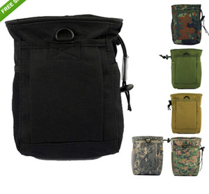Molle Tactical Magazine DUMP Drop Pouch Small Size Black