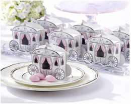"""Wholesale Cinderella Carriage Candy Boxes - """"Enchanted Carriage"""" Fairytale Themed Favor Box Wedding Boxes Cinderella Pumpkin Carriage Candy Boxes"""