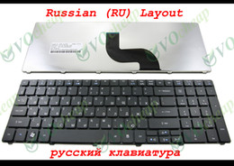 original notebook laptop Canada - New and Original Notebook Laptop keyboard FOR Acer Aspire 5536 5536G 5738 5810 5810T 7735 5336 5410 5252 5742G 5742Z Black Russian RU Versio