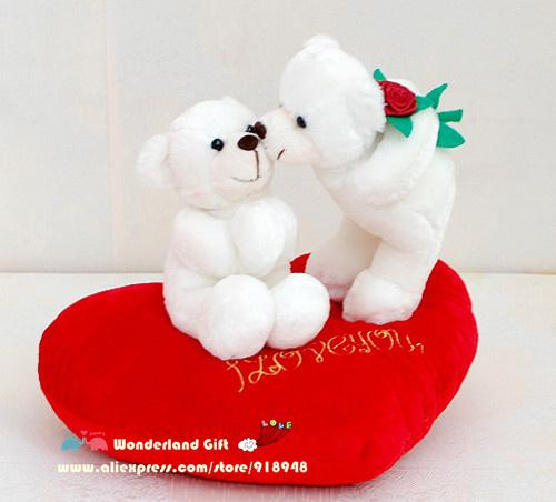 Wedding Gift For Friend Female: 2019 One Piece Love Bear Couple Pillow,Plush Doll,Birthday