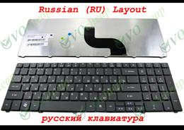 Wholesale Aspire 5741 - New Laptop keyboard for Acer Aspire 5736 5741 5750G 5733 5349 E443 (compatible 5536 5810 5810T) Black Russian RU - V104730AS1
