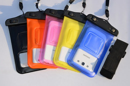 Wholesale Galaxy S3 Watch - Waterproof PVC Bag Case Underwater Pouch For Samsung galaxy S3 S4 For iphone 4 4S 5 5S 5C All mobile phone Watch ect