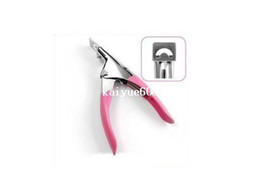 Wholesale Edge Cutter Tips - New Manicure Tool Acrylic UV Gel False Nail Clipper  Nail Edge Cutter Tips Free Shipping ZMJ007