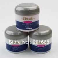 Wholesale Ibd Pink - 3 color IBD Builder Gel 2oz   56g - Strong UV Gel Pink Clear White for nail art false tips extension NA394