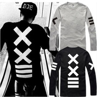 Wholesale Pyrex Vision 23 - free shipping 2015 new sale hip hop PYREX VISION 23 tshirt ==XX printed T-Shirts HBA tshirt long sleeve t shirt 100% cotton 6 color