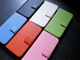 Wholesale Iphone 4s Cases Holster - For iphone 7 Plus 6 6s SE 5 5S 5C 5C 4 4S Genuine Real Leather wallet pouch case credit card book holster holder skin cover cases pouches