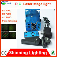 Wholesale Ems Mini Laser - WITH REMOTE!!! DHL   EMS   FEDEX mini Red & Green Moving Party mini led Laser Stage lighting Light Disco DJ party lighting projector