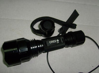 Ultrafire Cree Q5 200M 1 mode 18650 Flashlight Torch Remote ...