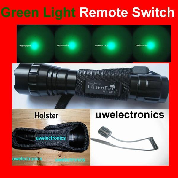 Ultrafire G60 Cree GREEN LED Flashlight Torch Hunter Rifle Barrel Gun  Remote Pressure Switch 6p G2 C1 L2 M2 S3 Green Light Flashlight Online With  ...