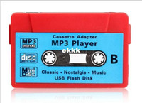 Wholesale Sd Tape Player - Wholesale-Free shipping New Arrival Hot Sale 10pcs lot High quality MINI Tape MP3 Player support Micro SD(TF) card 5 colors