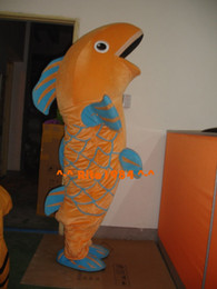 $enCountryForm.capitalKeyWord Canada - Funny Fish Carp Mascot Costume Cartoon Character Costume Fancy Party Dress Suit Free Shipping