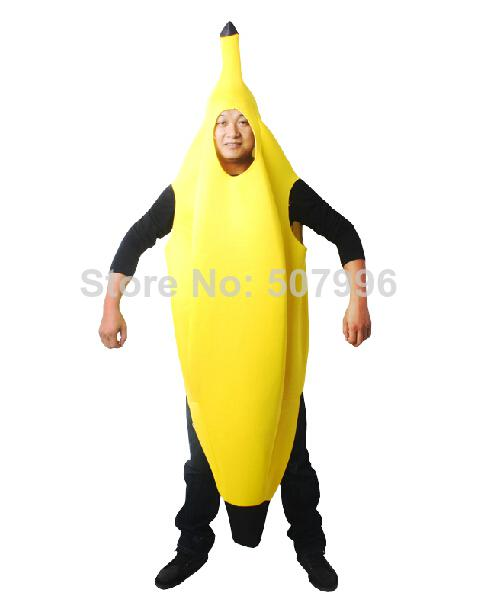 see larger image - Banana Costume Halloween