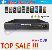 All'ingrosso-Libero! h.264 4ch D1 registratore CCTV DVR con RS 485, software CMS professionale e motion detect