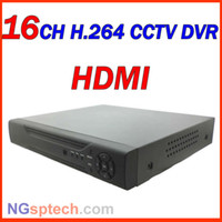 Wholesale Dvr 16 H 264 - Wholesale-Free shipping! 2013 Newest, HDMI 16 CH H.264 Cloud DVR with Net function easy setting, Remote View via Internet, Motion detector